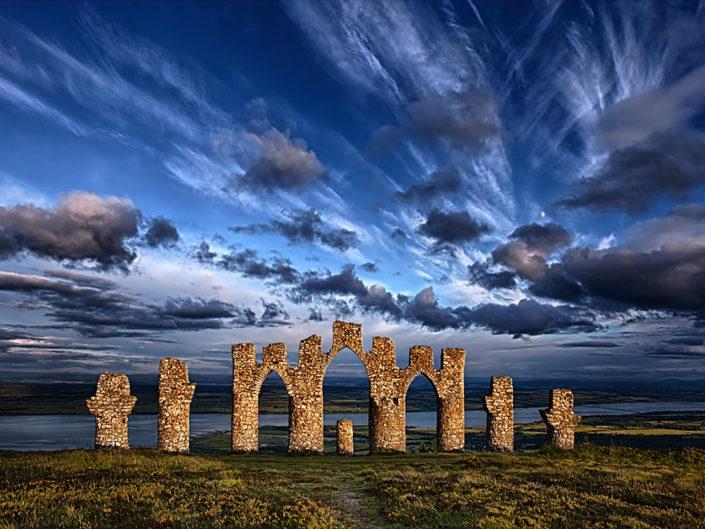 fyrish monument, scotland