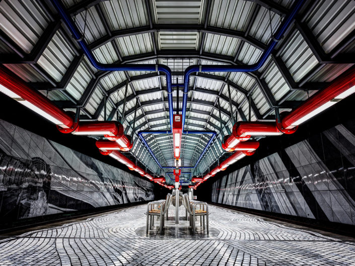 undergroundstation,gelsenkirchen,germany