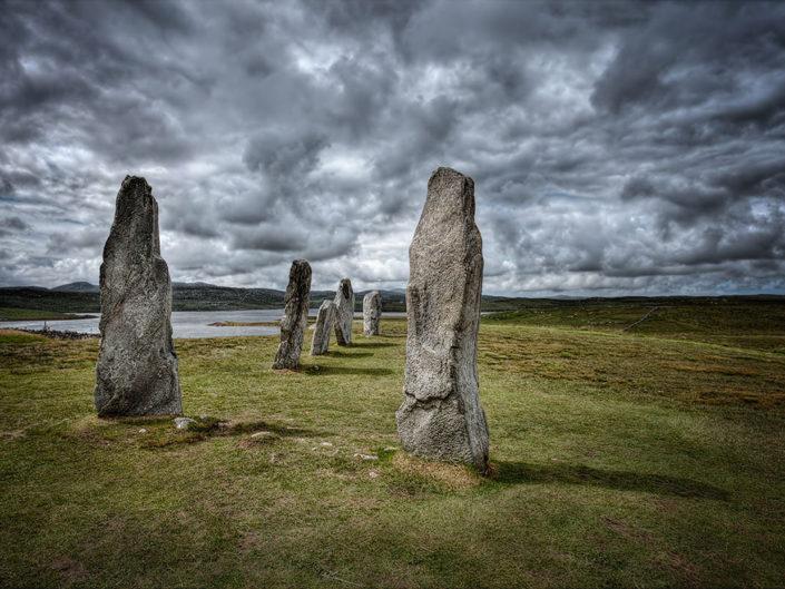 standing stones,callanishe, scotland