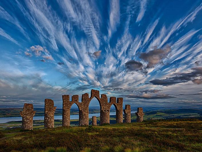 fyrish monument, landmark,Scotland