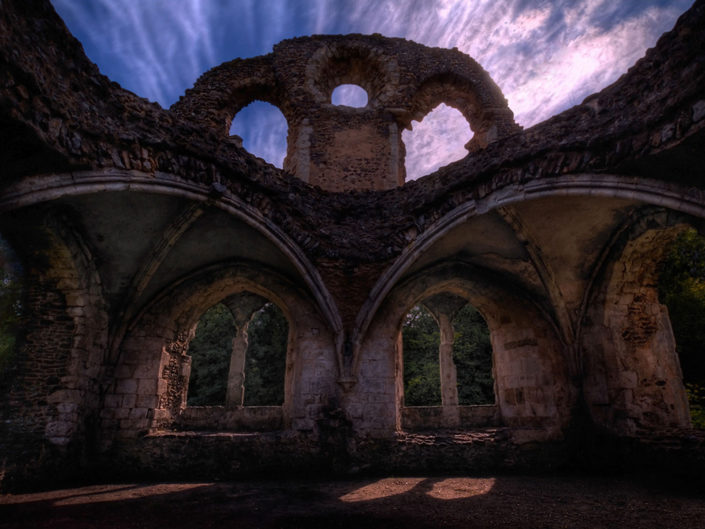 bayham abbey, england