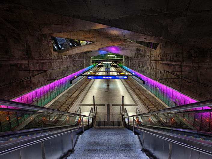 undergroundstation,bochum,germany