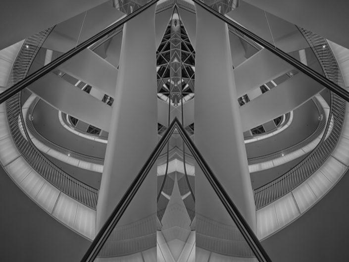 architecture, monocrome
