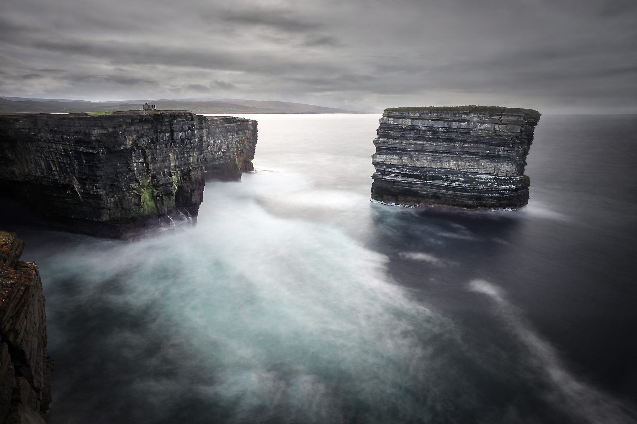 Downpatrick Head, County Majo, Ireland