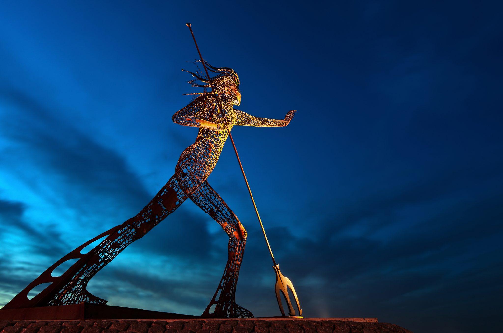 Neptun statue, Venlo, Netherlands