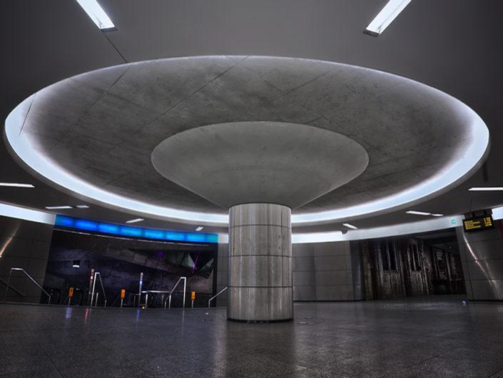 Bochum U Bahnhof Raumschiff Orion