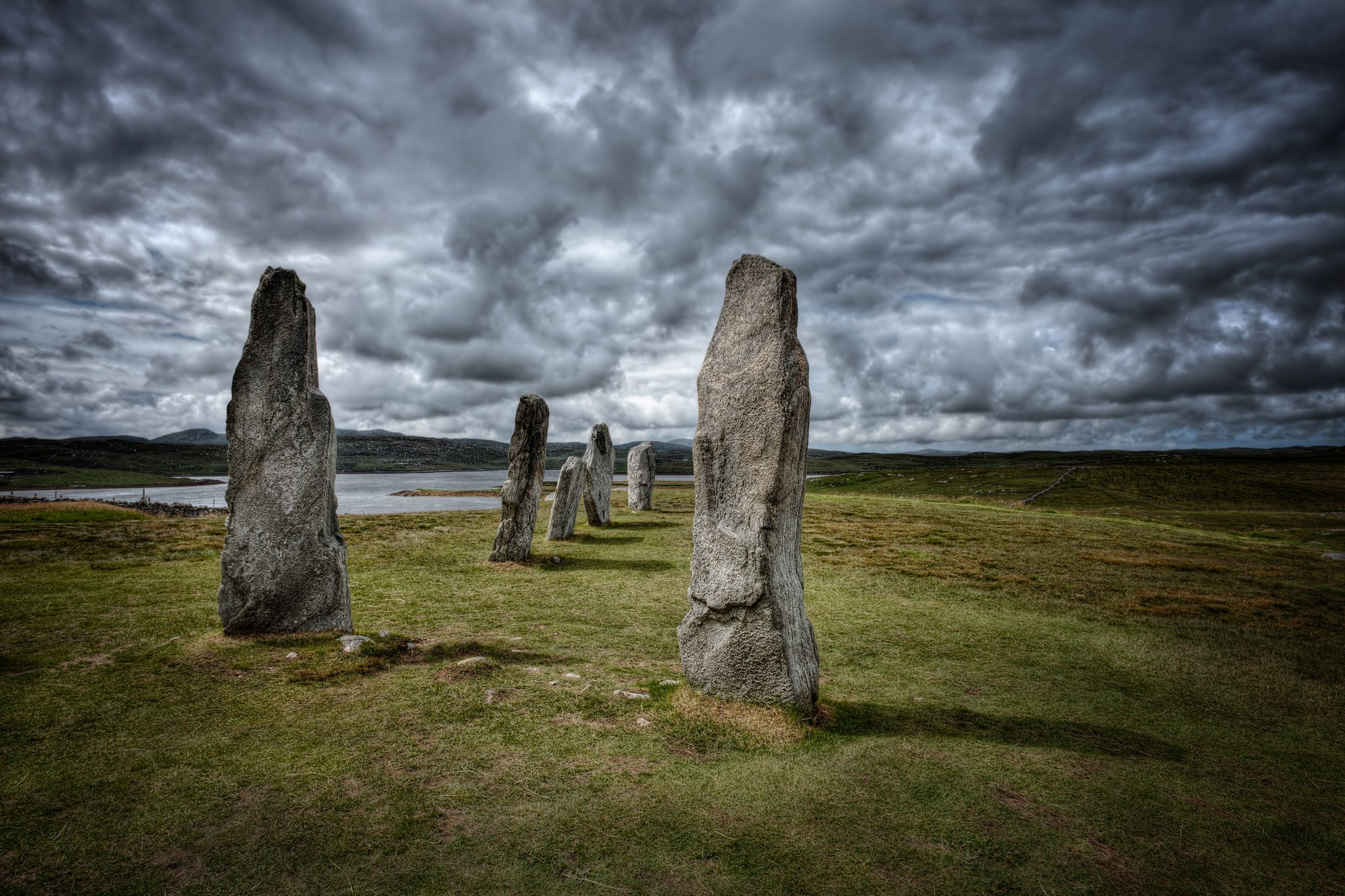 Standing Stones , Callanish, Isle of Lewis, Scotland
